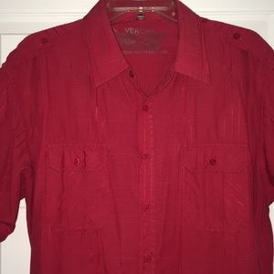 Other - Men's xl button down. Design back